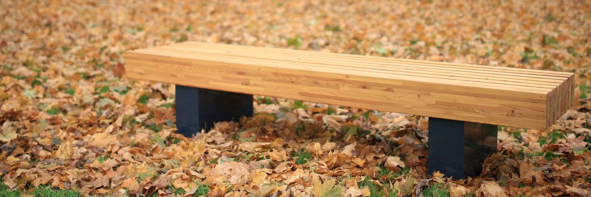 park bench Nippon, without backrest