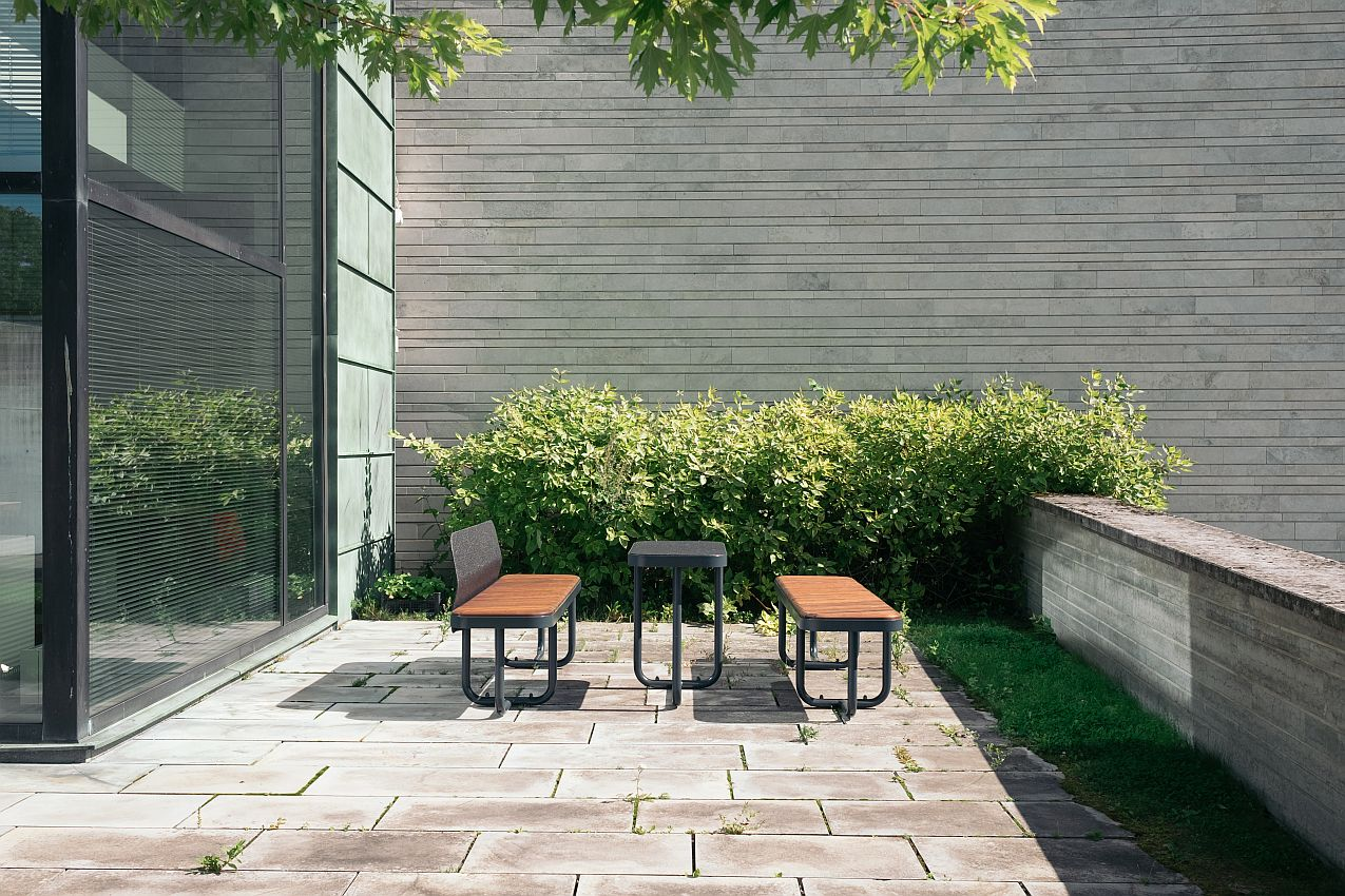 park bench Tiide, without backrest