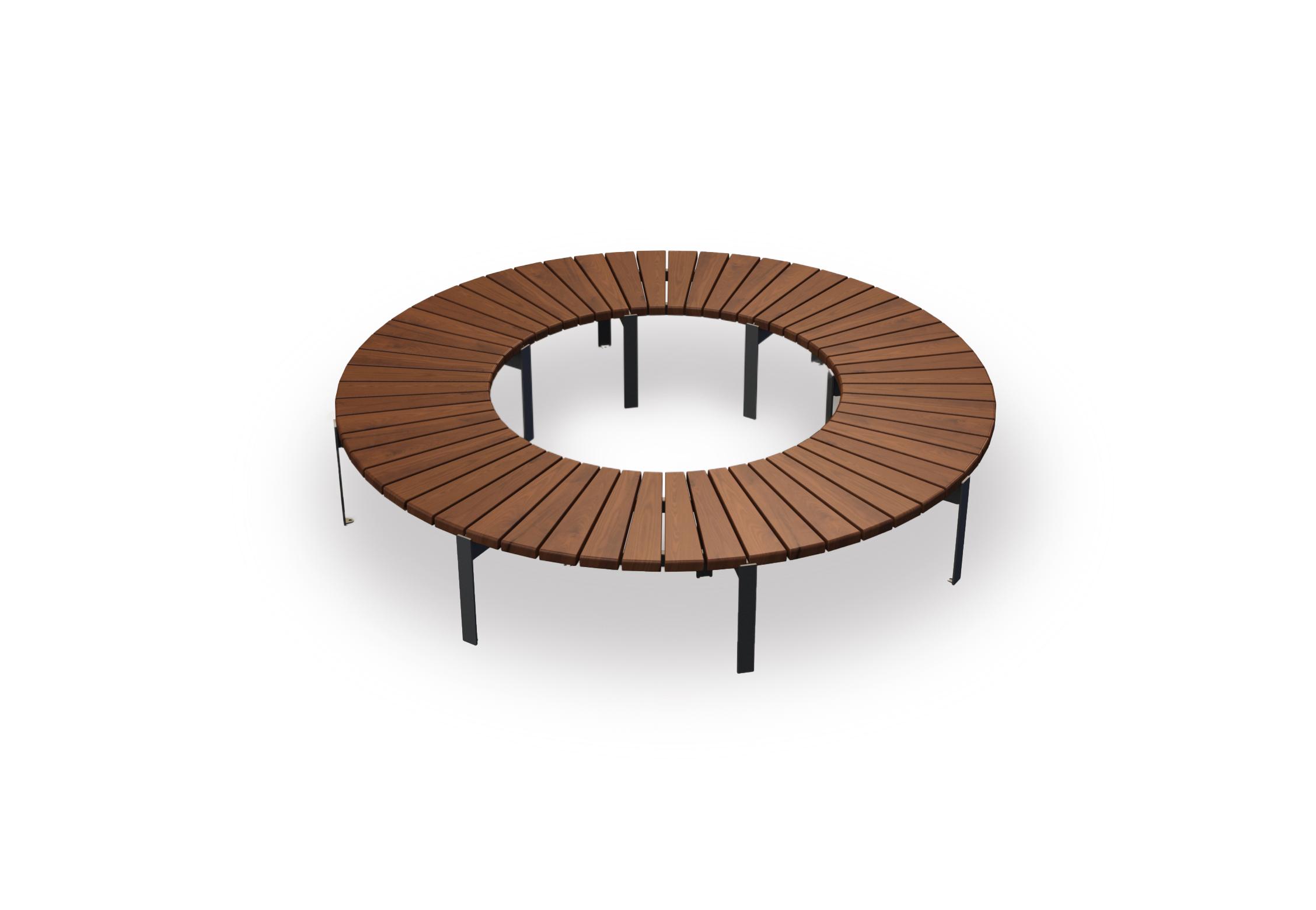 modulaarinen Jada pyöreä penkki