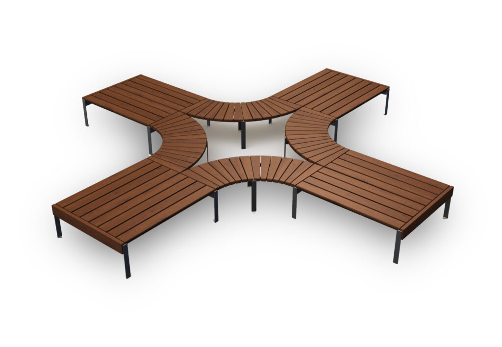 modular park bench Jada set1
